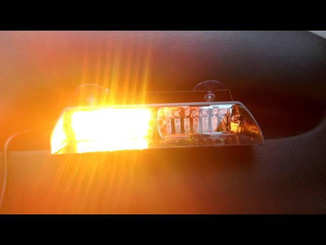 Federal signal viper S2 Led strobe light multi color