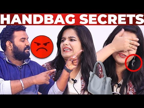 Handbag Goes WRONG - Kanmani Serial Haripriya Handbag Secrets Revealed | What's Inside the Handbag?