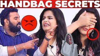 Handbag Goes WRONG – Kanmani Serial Haripriya Handbag Secrets Revealed | What's Inside the Handbag?