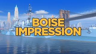World of Warships - Boise Impression