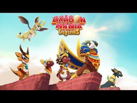 Dragon Mania Legends - Golden Pyramid Trailer