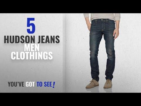 Top 10 Hudson Jeans Men Clothings [ Winter 2018 ]: Hudson Jeans Men's Blake Slim Straight Zip Fly