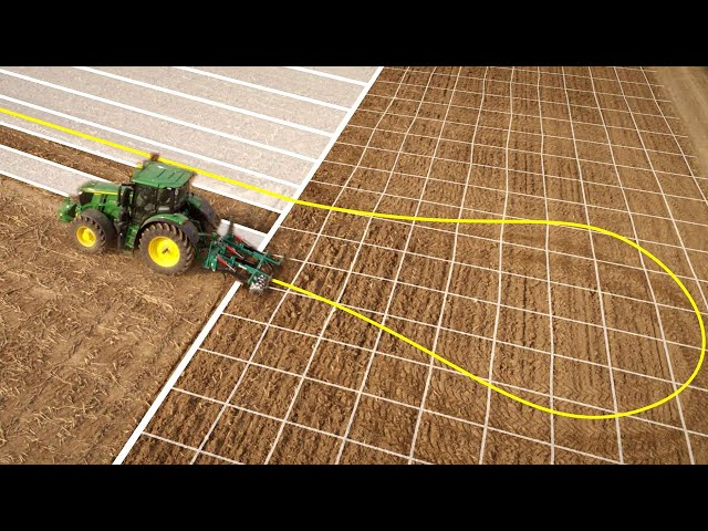 John Deere - AutoTrac - Automatização de manobras