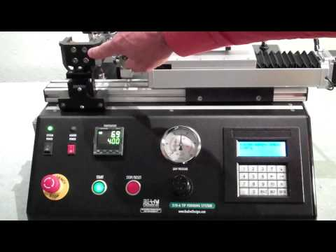 Catheter Tip Forming Machine .MP4