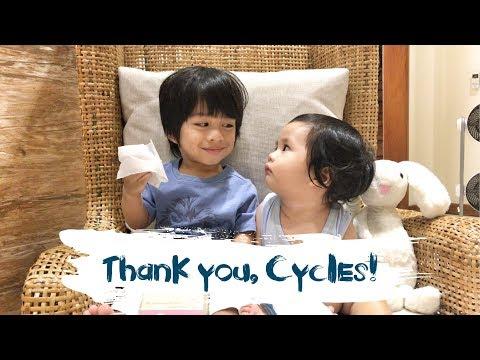 Thank you, Cycles! | Tahanan Cruz