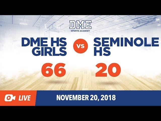 DME HS Girls vs. Seminole