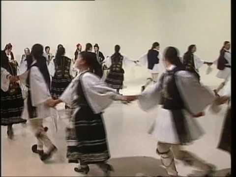 Katevas - Greek Folk Dances (Kalamatiana)