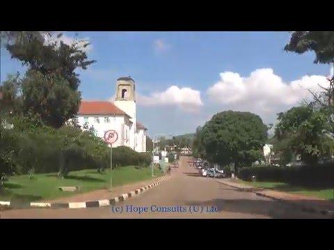Drive within Makerere University Kampala Uganda