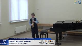 Alexander Dolgov – Etude Ferling 18