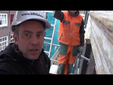 видео: РЕСТОВРАЦИЯ ФАСАДА  В АМcТЕРДАМЕ.