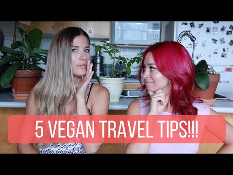 5 Vegan Travel Tips - Collab w/ The Edgy Veg