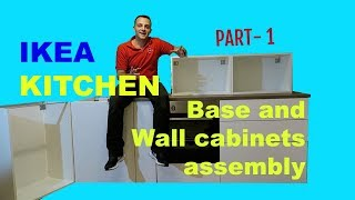 How to assemble IKEA kitchen. IKEA Kitchen Part 1 METOD Base and Wall cabinets assembly in part one I will show you how to