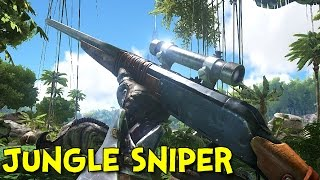 JUNGLE SNIPER! - Ark: Survival Evolved - Ep.2(They thought they would raid our little base! Playing with SadaPlays! http://www.twitch.tv/sadaplays Ark Playlist: ..., 2015-06-26T03:45:26.000Z)