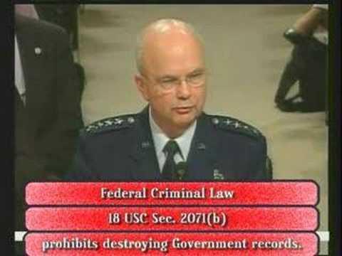 CIA Records Destruction Needs Special Prosecutor Fitzgerald