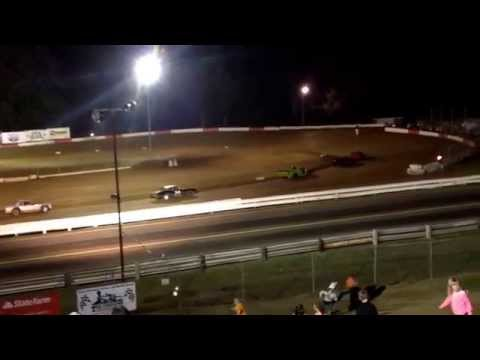 Coos bay speedway heat race street stock 9-27-14