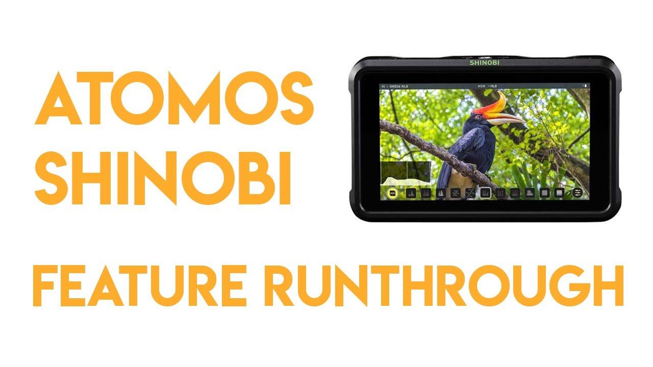 Atamos Shinobi Feature run-through