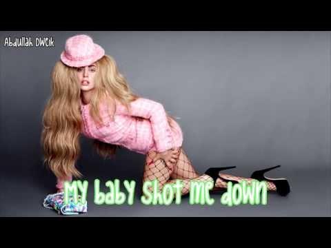 Lady Gaga - Bang Bang (My Baby Shot Me Down) - Lyrics ***CHEEK TO CHEEK***