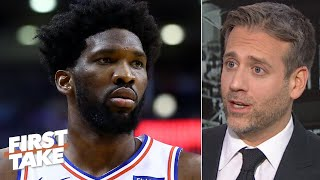 Joel Embiid needs load management like Kawhi - Max Kellerman | First Take