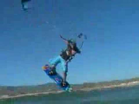 Kiteboarding Gisela Pulido en Tarifa