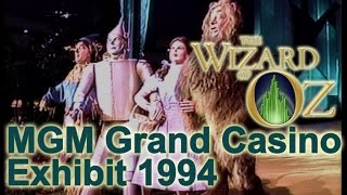 Wizard of Oz Attraction @ MGM Grand Casino 1990's
