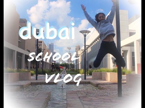 day in the life of a DUBAI student // senior yr