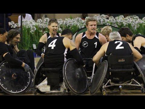 Wheelchair Rugby: The Wheel Blacks