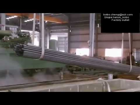 Hot dip galvanized pipes / tubes