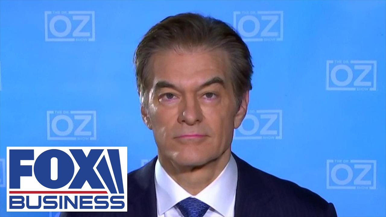 Dr. Oz anticipates a year or more until COVID-19 vaccine is ready