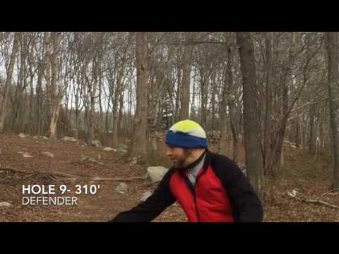 South Kingstown Disc Golf Course- Wakefield RI 2/5/17