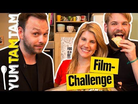 Wer wird die FILM-CHALLENGE gewinnen? // Snacks für den Serien-  & Filmabend // #yumtamtam