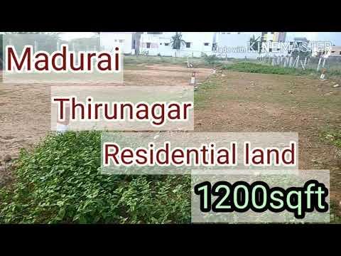 Madurai plots for sale/Thirunagar/Madurai AIIMS Hospital just 4km/Residential land