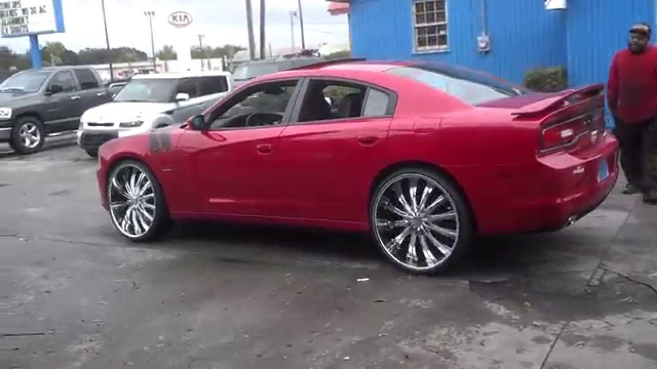 2013 dodge charger r t max on 26s youtube. Black Bedroom Furniture Sets. Home Design Ideas