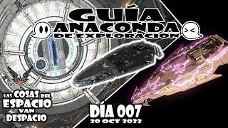 ELITE: DANGEROUS Gameplay Español DÍA 007   GUÍA de ANACONDA EXPLORADORA EN PROFUNDIDAD
