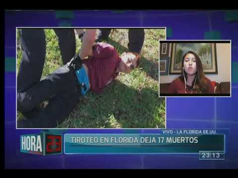 Tiroteo en Florida deja 17 muertos