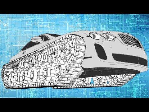 видео: Bentley Ultratank. Начало.