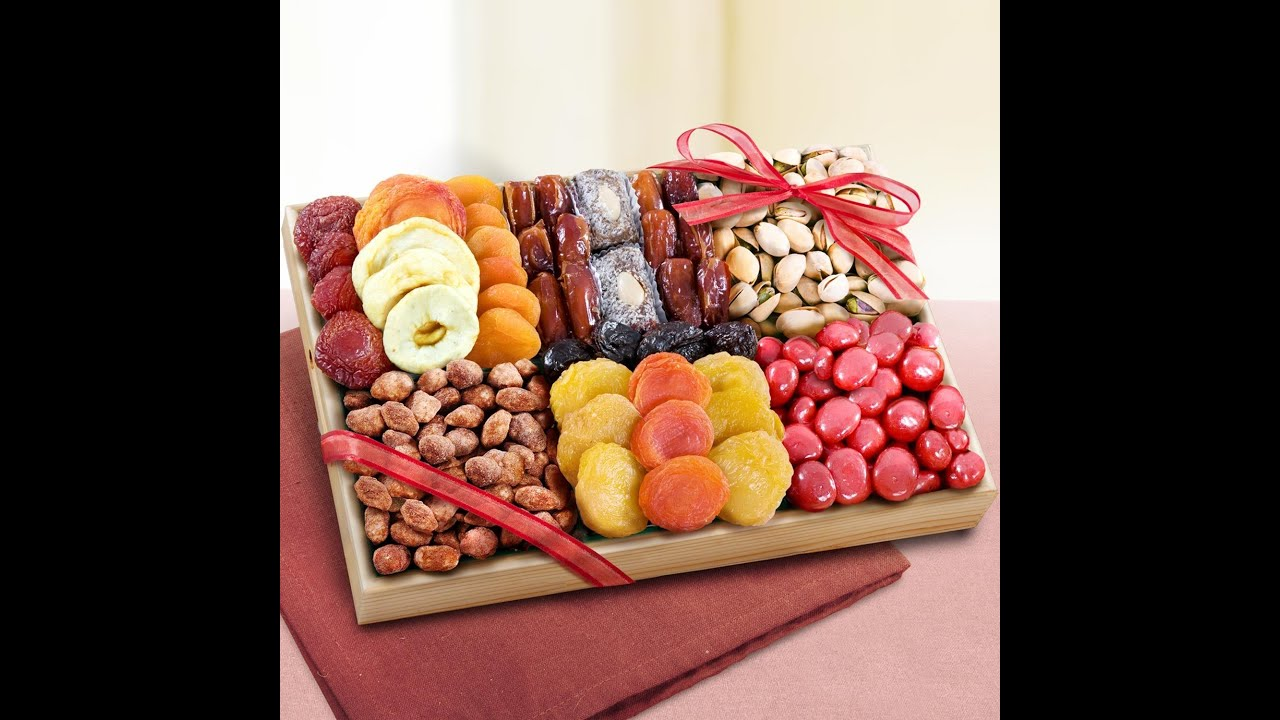 And Nuts Dry Baskets Fruit