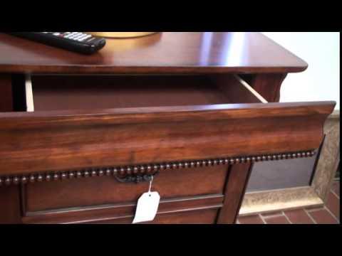 Verona Nightstand Hidden Drawer Furniture Youtube
