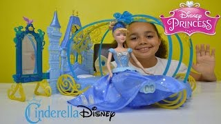 NEW Disney Princess | Cinderella Dream Bedroom & Twirling Skirt | Kids Toy Review