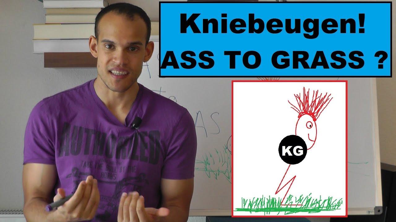 """Wie tief Kniebeugen ? """"Ass to Grass"""" wirklich richtig ? (Kniebeugentiefe & Krafttraining)"""