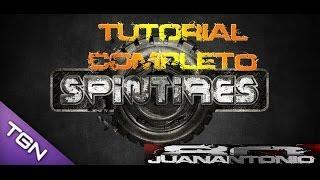 Spin Tires 2014 -Tutorial completo como jugarlo