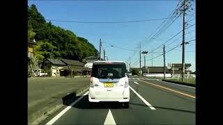 国道293号線 那珂川町馬頭~常陸太田 2018/6/