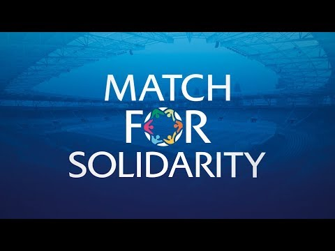 Ronaldinho, Figo and other football greats in Match For Solidarity