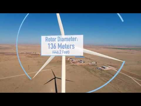 Tallest Wind Turbine in the U.S. installed at West Texas A&M University
