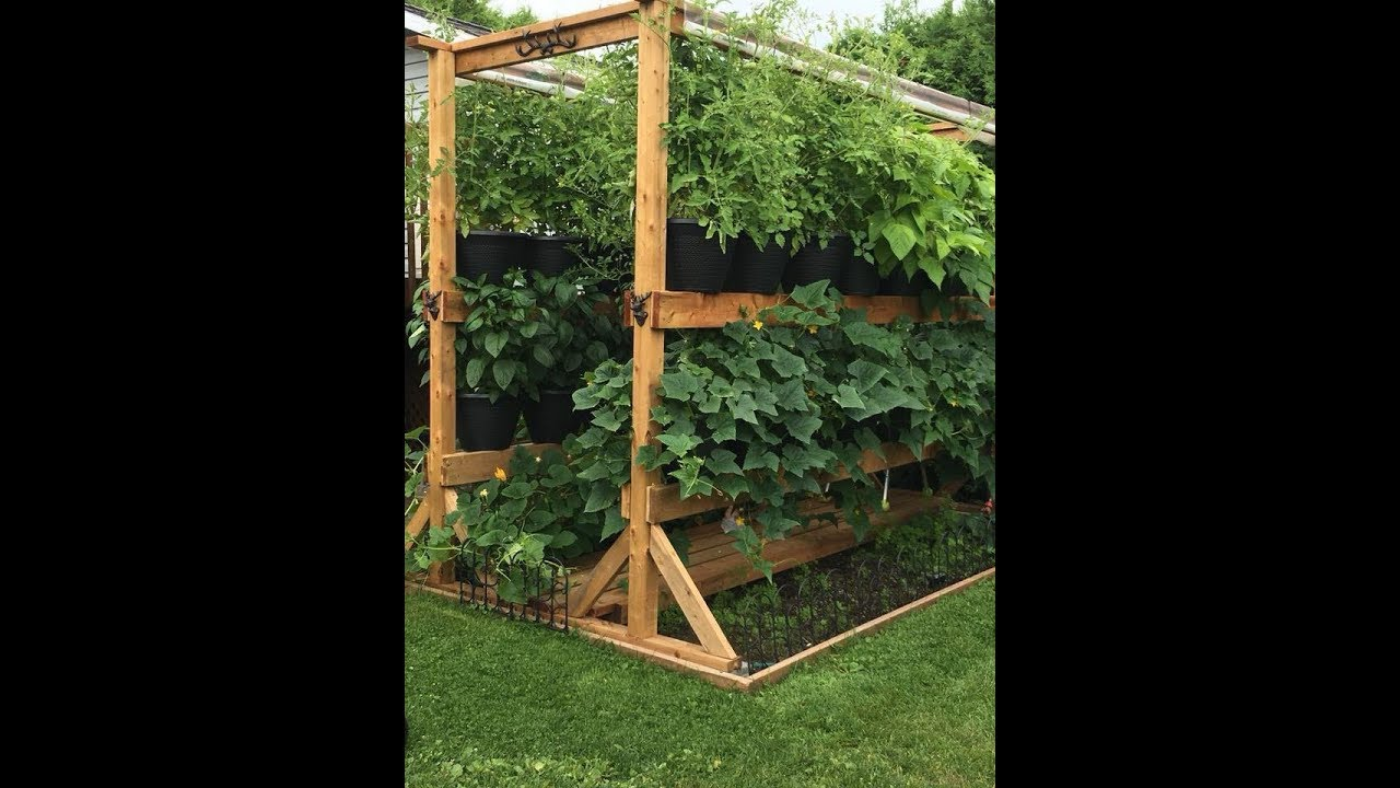 The Amazing Double Decker Rain Gutter Grow System Made In