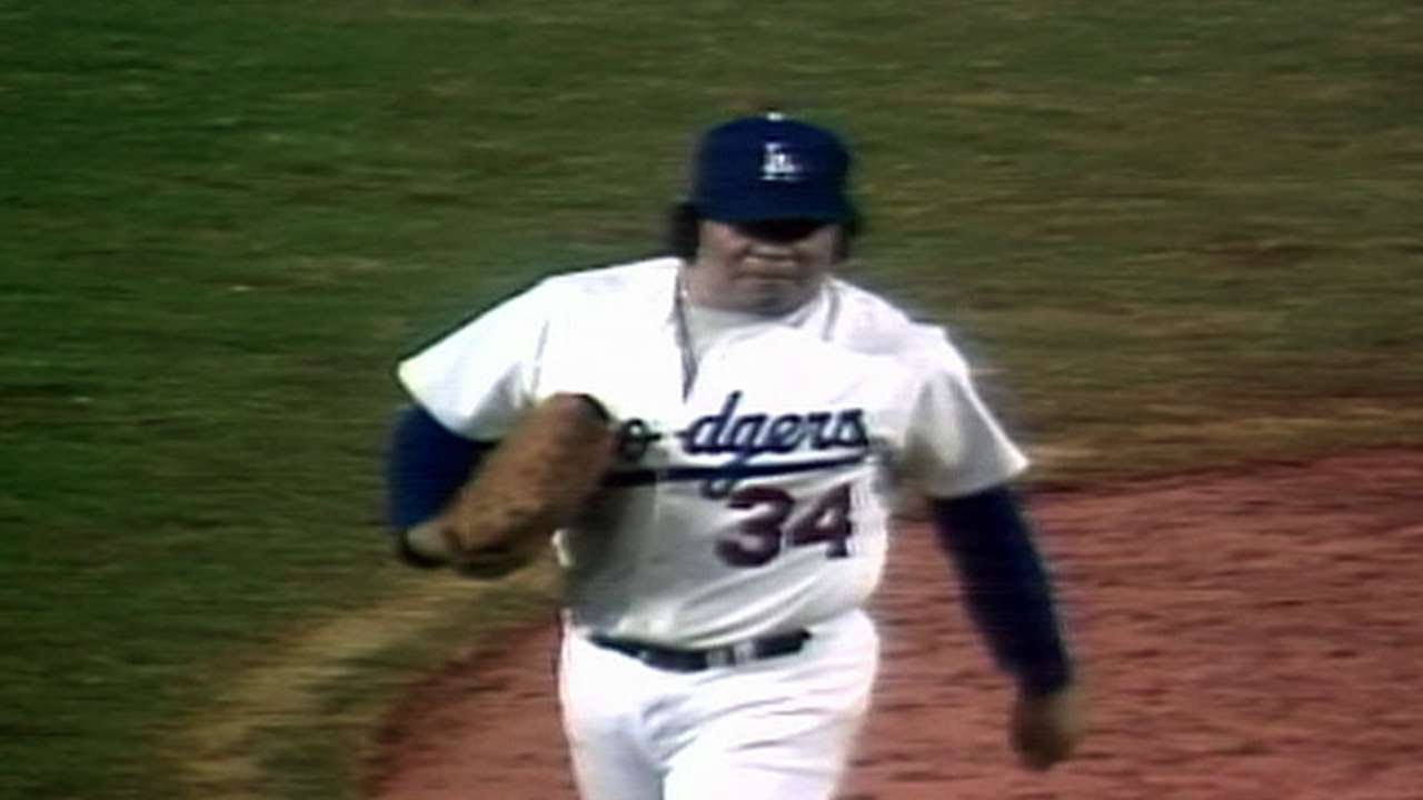1981 WS Gm3 Valenzuela Ks Piniella Dodgers Get Win