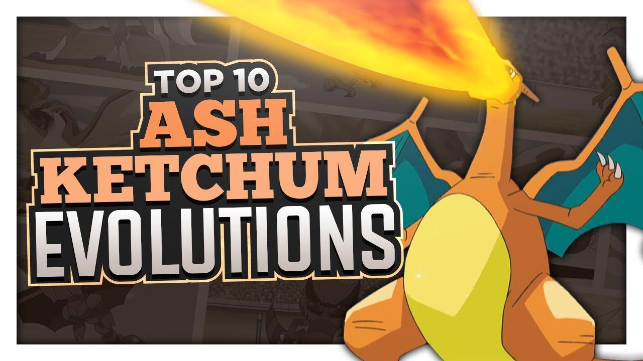 Top 10 Ash Ketchum Evolution Moments
