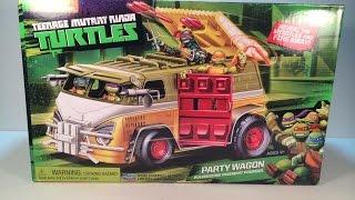 Teenage Mutant Ninja Turtles Party Wagon Review