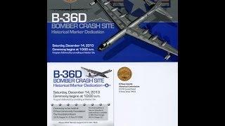 Video December 14, 2013 TV  webcast of the B36 Crash Site Historic Marker dedication download MP3, 3GP, MP4, WEBM, AVI, FLV Juni 2018