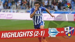 Resumen de Deportivo Alavés vs SD Huesca (2-1)