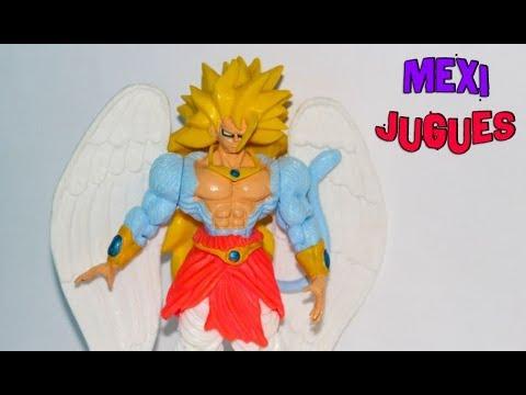 Broly Angel Dragonball AF Figura Mexicana Del 2011  - MexiJugues -- Reseña Unboxing